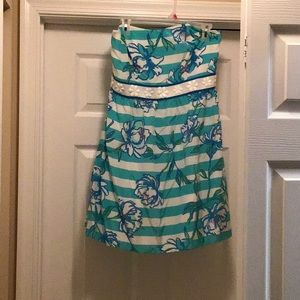LIMITED EDITION Lilly Pulitzer strapless dress